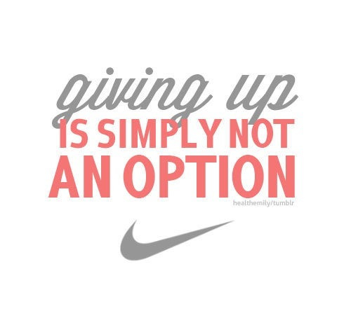 giving-up-is-simply-not-an-option-sports-quote