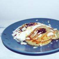 Gegrilde ananas met yoghurt