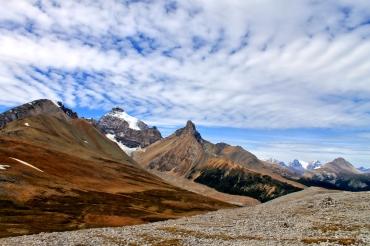 Uitzicht bij Parker Ridge trail