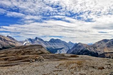 Nog meer uitzicht bij de Parker Ridge traile