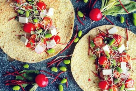 Gevulde corn wraps - Healthylivinglisan