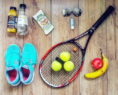 Sportdagboek maand april #1 - Healthylivinglisan
