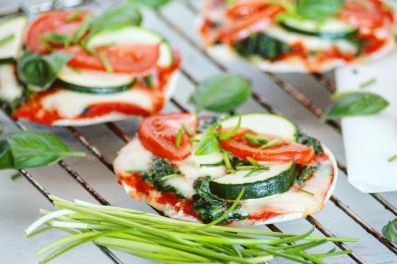 Vegetarische mini pizza's #2 - Healthylivinglisan