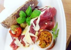 Wat eten we vandaag broodje carpaccio - Healthylivinglisan
