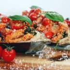 Wat eten we vandaag gevulde aubergine met couscous - Healthylivinglisan