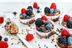 Wat eten we vandaag gezonde chocolade muffins - Healthylivinglisan