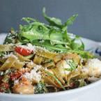 Wat eten we vandaag pasta rode pesto - Healthylivinglisa