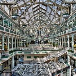 Shopping hall Dublin