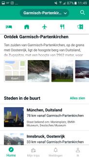 Tripadvisor app ontdek je omgeving - Healthylivinglisan