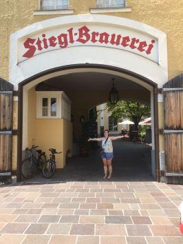 En ook de Stiegl Brauerei is een bezoekje waard