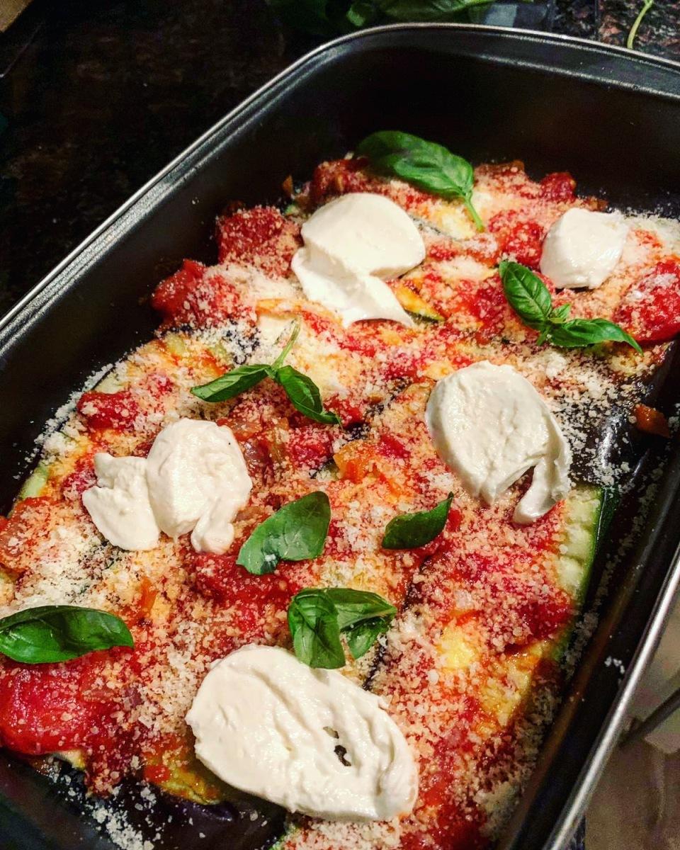 Homemade Melanzane alla parmigiana